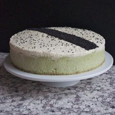 Sublime cheesecake au thé vert matcha