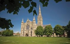 Summer at Salisbury Cathedral