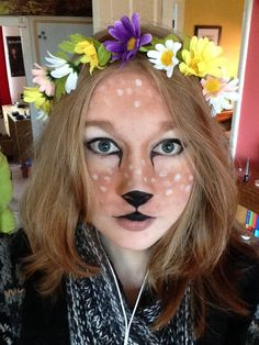 I tried out some fawn makeup<<<I love this