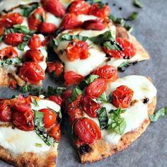 Pizza Low Carb com Massa de Couve Flor 😋