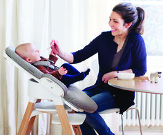 We love that @stokkebaby's products are sleek and modern, yet designed with the child in mind for long-lasting use! #PNapproved