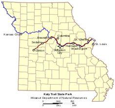 Katy Trail State Park Missouri.svg