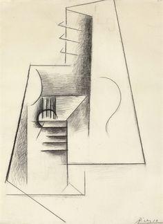 PABLO PICASSO (1881-1973) GUITARE