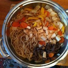 Osaka-Style Sukiyaki Recipe - one of my FAVORITES, taught to me 5+ years ago by a friend from Kansai :)