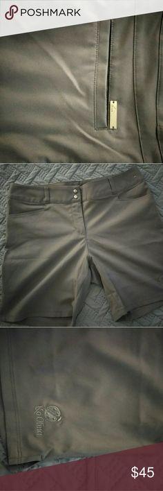 Ladies golf shorts Gray Adidas Shorts