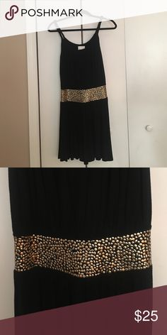 Short blk dress with waist detail. Jersey fabric! Perfect for daytime event or casual outing. decode 1.8 Dresses Mini