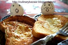 Egg-in-the-hole – Egg in the basket, Hen in a nest, one-eyed monster breakfast, toad in the hole. Eat All You Can, Egg In A Hole, Heart Shaped Cookie Cutter, Recipe Sites, Breakfast In Bed, Diy Food, Delish, Cooking Recipes, Vegetarian Recipes