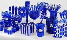 Royal Blue Candy Buffet                                                                                                                                                                                 More