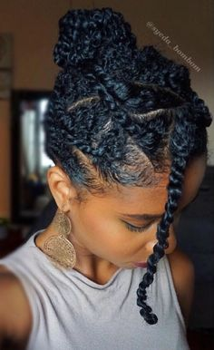 Protective hairstyles 636696466052360949 - 35 Natural Braided Hairstyles Without Weave Source by shardlawrence Natural Braided Hairstyles, Natural Hair Braids, Natural Hair Growth, Short Twists Natural Hair, Protective Styles For Natural Hair Short, Braid Hairstyles, Protective Hairstyles For Natural Hair, Natural Hair Men, Flat Twist Hairstyles