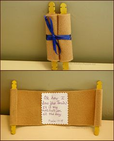 torah craft. Too cute!