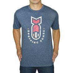 0e38e40e Dropping Bombs all game long, that's what the new Baseballism Men's  Dropping Bombs T-Shirt is all about. Bases Loaded