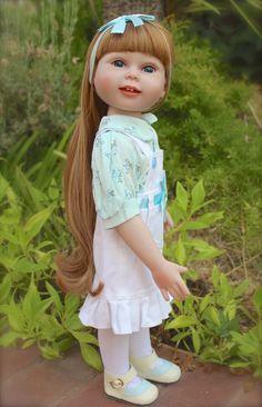 """HARMONY CLUB DOLLS Thin 18"""" vinyl bodied doll. Visit www.harmonyclubdolls.com"""