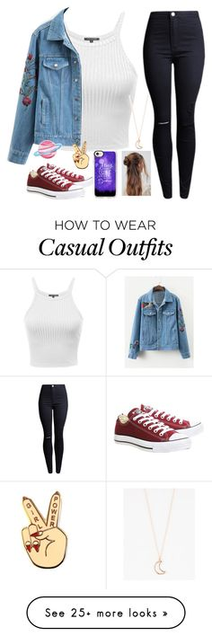 """Untitled #2267"" by tokyoghoul1 on Polyvore featuring Converse, ASOS, Casetify and Full Tilt"