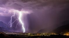 earth   Thunderstorm by Grischott Peter