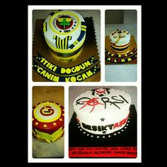 #taraftar #pasta #bjk #fb #gs #takım #football #futbol #soccer #cakes