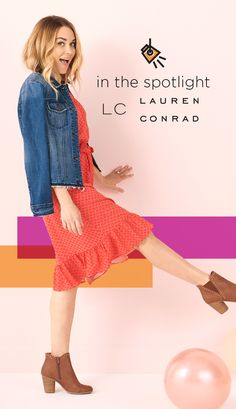 2e79ba79953e4d IN THE SPOTLIGHT. Find LC Lauren Conrad styles at Kohl's. Whether you're
