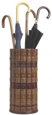 Book umbrella stand