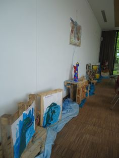 ark opendeurdag kunsttentoonstelling