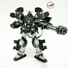 Gundam Heavyarms Guerilla Warfare   Full Burst Mode