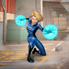 "Patrick Brown on Instagram: ""Susan Storm - Invisible Woman Here's some more work for the F4 project for Marvel, had a lot of fun with these, drawing her powers was…"" Invisible Woman, Brown Art, Fantastic Four, Marvel Comics, Harajuku, Disney Characters, Fictional Characters, Drawings, Artwork"