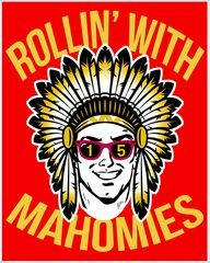 Rollin' With Mahomies Poster Shop Rollin' With Mahomies Poster custom made just for you. Available on many styles, sizes, and colors. Kansas City Nfl, Kansas City Chiefs Football, Chiefs Wallpaper, Photo Quality, Print And Cut, Poster Prints, Tech N9ne, American Football, Wood Burning