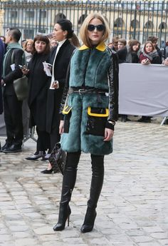 Olivia Palermo: 100 mejores looks - Style Lovely Style Olivia Palermo, Fur Fashion, Fashion Outfits, Natalia Vodianova, Looks Style, My Style, Winter Outfits, Casual Outfits, Nyc Girl