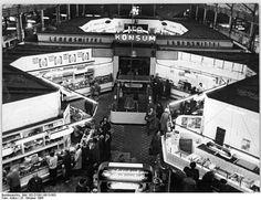 Berlin Zentralmarkthalle Oktober 1965