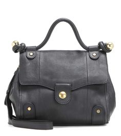 SEE BY CHLOÉ Dixie Leather Shoulder Bag. #seebychloé #bags #shoulder bags #leather #denim #lining