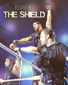 Even though their not a group any more., I will always and forever believe in the shield.