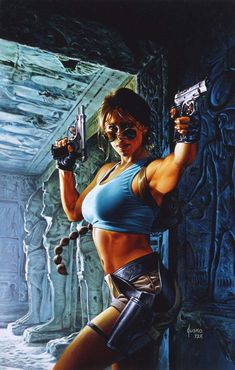 Tomb Raider by JoeJusko
