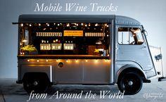 Mobile Wine Bar Trucks from Around the World