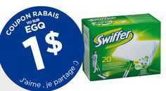 COUPON RABAIS SWIFFER DE 1$