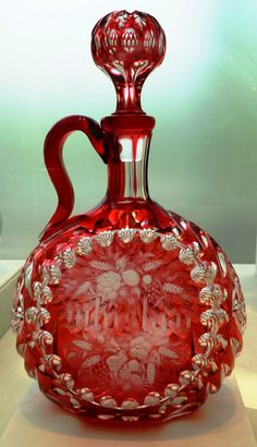 Pretty Red Perfume Bottle ...