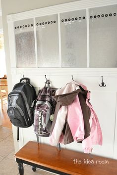 another way to keep the kid's stuff organized