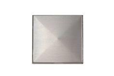Stainless Steel Tile Backsplash | Modern Metal Tiles | Contemporary Kitchen Design | Square 3D Tiles | Shop at Stainless Steel Tile Inc