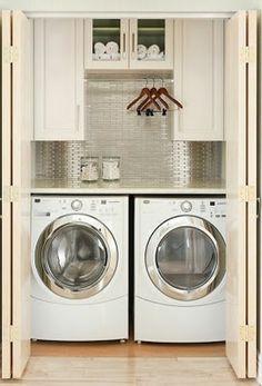 home stuff: laundry closets