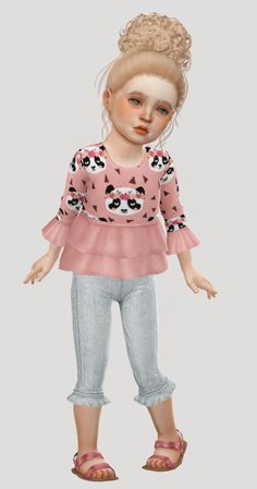 gucci outfit for toddler Sims 4 Sims, Sims 4, Coiffure