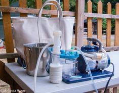 Melinda's blog post on the Ultimate EZ milker