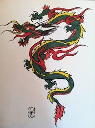 old school dragon tattoos - Cerca con Google