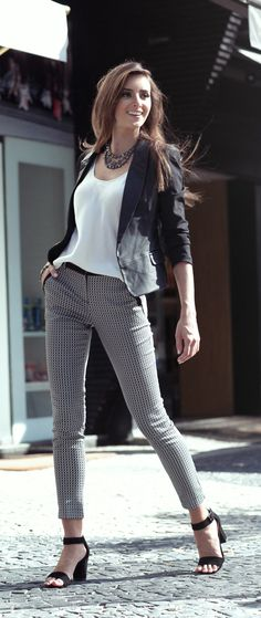 Look feminino: social - lojas renner dreams fashion, business casual outfit Summer Office Outfits, Casual Work Outfits, Business Casual Outfits, Work Attire, Stylish Outfits, Cute Outfits, Fashion Mode, Office Fashion, Work Fashion