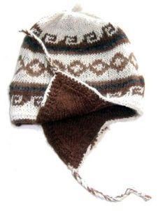 Doppelt gestrickte #Chullo aus #Alpakawolle, beidseitig tragbar, Einheitsgröße. Original peruanische Chullo Mütze aus Alpakawolle. Die Chullo kann beidseitig getragen werden. Von unseren Strickerinnen in Cusco/Peru hergestellt. Durch die elastische Strickweise Einheitsgröße.