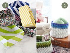 Roundup: 10 Fantastic DIY Storage Boxes, Baskets And Containers