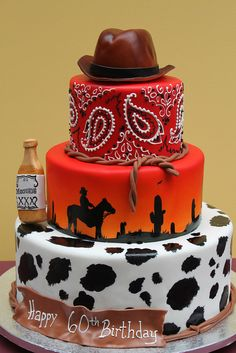 Cowboy Cake by Alliance Bakery - For all your cake decorating supplies, please visit craftcompany.co.uk