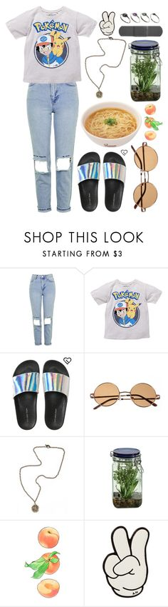 """Sem título #718"" by mariana-almeida-4 ❤ liked on Polyvore featuring Topshop, Aéropostale, French Kande, Alöe, Anya Hindmarch and ASOS"