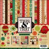 Echo Park Paper This & That Graceful 12 by 12-Inch Collection Kit