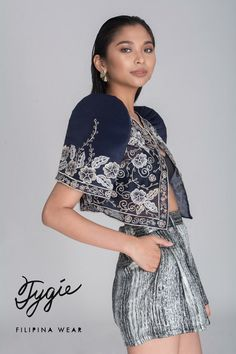 Filipiniana isn't just for formal occasions anymore! Tygie is a homegrown brand that specializes in modern Filipiniana clothing. Filipiniana Wedding Theme, Modern Filipiniana Dress, Filipino Fashion, Asian Fashion, Grad Dresses, Casual Dresses, Barong Tagalog For Women, Philippines Fashion, Bolero
