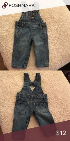 Overalls Denim overalls trimmed in pink. Worn once. No stains. Excellent condition Osh Kosh Other