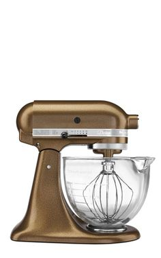 KitchenAid Design Series Stand Mixer in Antique Copper #wishlist http://rstyle.me/n/dpqj5n2bn