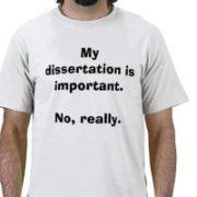 my dissertation is important. no, really.