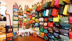 Bagage - a bag shop in W. Kreuzberg at Bergmannstrasse 13.  U:  Gneisenaustrasse.  Open 11am-8pm M-F; 10am-5pm Sat